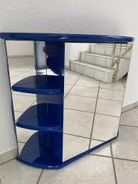 badezimmer spiegelschrank blau