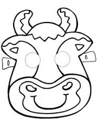 Animals Mask Template