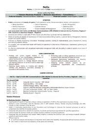 Sample Resume For Telecom Manager Together With Telecommunications