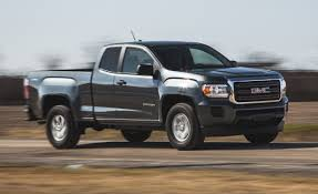 2015 GMC Canyon 2.5L 4x4 Test – Review – Car And Driver 2016 Chevy Silverado 53l Vs Gmc Sierra 62l Chevytv Comparison Test 2011 Ford F150 Road Reality Dodge Ram 1500 Review Consumer Reports F350 Truck Challenge Mega 2014 Chevrolet High Country And Denali Ecodiesel Pa Ray Price 2018 All Terrain Hd Animated Concept Youtube Gmc Canyon Vs Slt Trim Packages Mcgrath Buick Cadillac