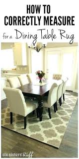 Dining Room Rugs Over Carpet Protector Cover How To Correctly