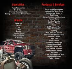 100 Truck Specialties JD Accessories