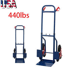 440lb Heavy Duty Stair Climbing Moving Dolly Hand Truck Warehouse ... Heavy Duty Dolly Hand Truck For Inflatable Transport Dollies And Trucks Moving Supplies The Home Depot Harper 700 Lb Capacity Super Steel Convertible Clipart Milwaukee Tree 33999 Do It Best 55 Gallon Drum For Sale Asphalt Sealcoating Direct Goplus 660lbs Platform Cart Folding Push Foldable Costway 2 In 1 Stair Climber 2018 Warehouse R Us Wesco Spartan 3 Position Item 270391 600lb Industrial Moving Appliance