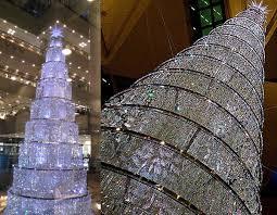 Hong Kong Swarovski Crystal LED Prelit Christmas Tree
