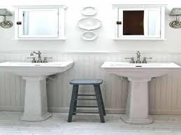 Weatherby Bathroom Pedestal Sink Storage Cabinet by Bathroom Sink And Pedestal White Solid Surface Stone Resin