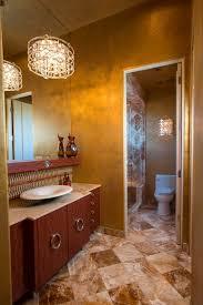wandgestaltung mit farben ideen in gold und goldnuancen