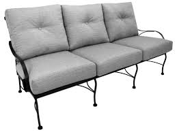 Meadowcraft Patio Furniture Dealers by Meadowcraft Monticello Wrought Iron Deep Seating Sofa 2781000 01