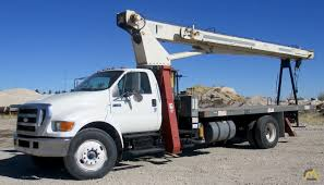 Terex BT 3670 18-ton Boom Truck Crane On Ford F-750 For Sale Trucks ...