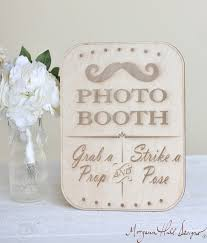 Photo Booth Sign Rustic Chic Wedding Decor Prop Item Number 140125 Posted By Morgann Hill