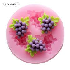 moule cuisine 3d forme de raisin décoration moule en silicone décoration de gâteau