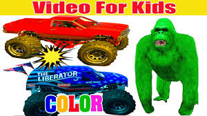 Color Cars Monster Truck And Monkeys Cartoon For Kids On Mcqueen ... Battle Cars Video Dailymotion Kid Galaxy Pick Up With Lights And Sounds Products Pinterest Iron Outlaw Monster Truck Theme Song Best Resource Bigfoot Truck The Suphero Finger Family Rhymes Slide N Surprise Elasticity Blaze The Machines Wiki Fandom Powered By Educational Videos For Preschoolers Blippi Bike And Truck Wallpaper Software Song Tow Mater Monster Spiderman Hulk Nursery Songs I Rock Roll Choice Awards Dan We Are Trucks Big