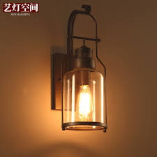 light industrial arts space american country style retro antique