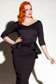 Pinup Couture Haley Top In Black