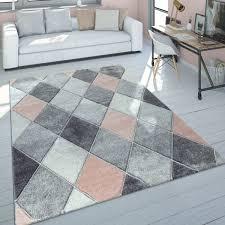 teppich schlafzimmer skandinavisches muster