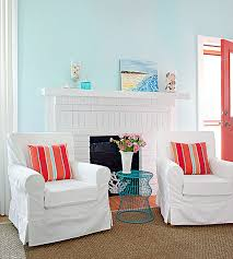 Coral Color Interior Design by What Colors Go With Blue