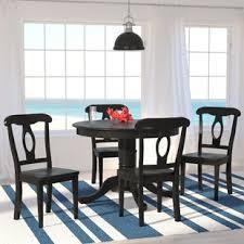 5 Piece Dining Set Round Table