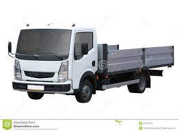 White Small Truck Stock Photo. Image Of Wheel, Iveco - 14572294