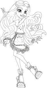 Full Size Of Filmmonster High Coloring Pages Draculaura A Picture Monster Mandala Large