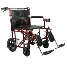 Transport Chair Or Wheelchair by Medline Bariatric Transport Chair Mds808200bar The Home Depot
