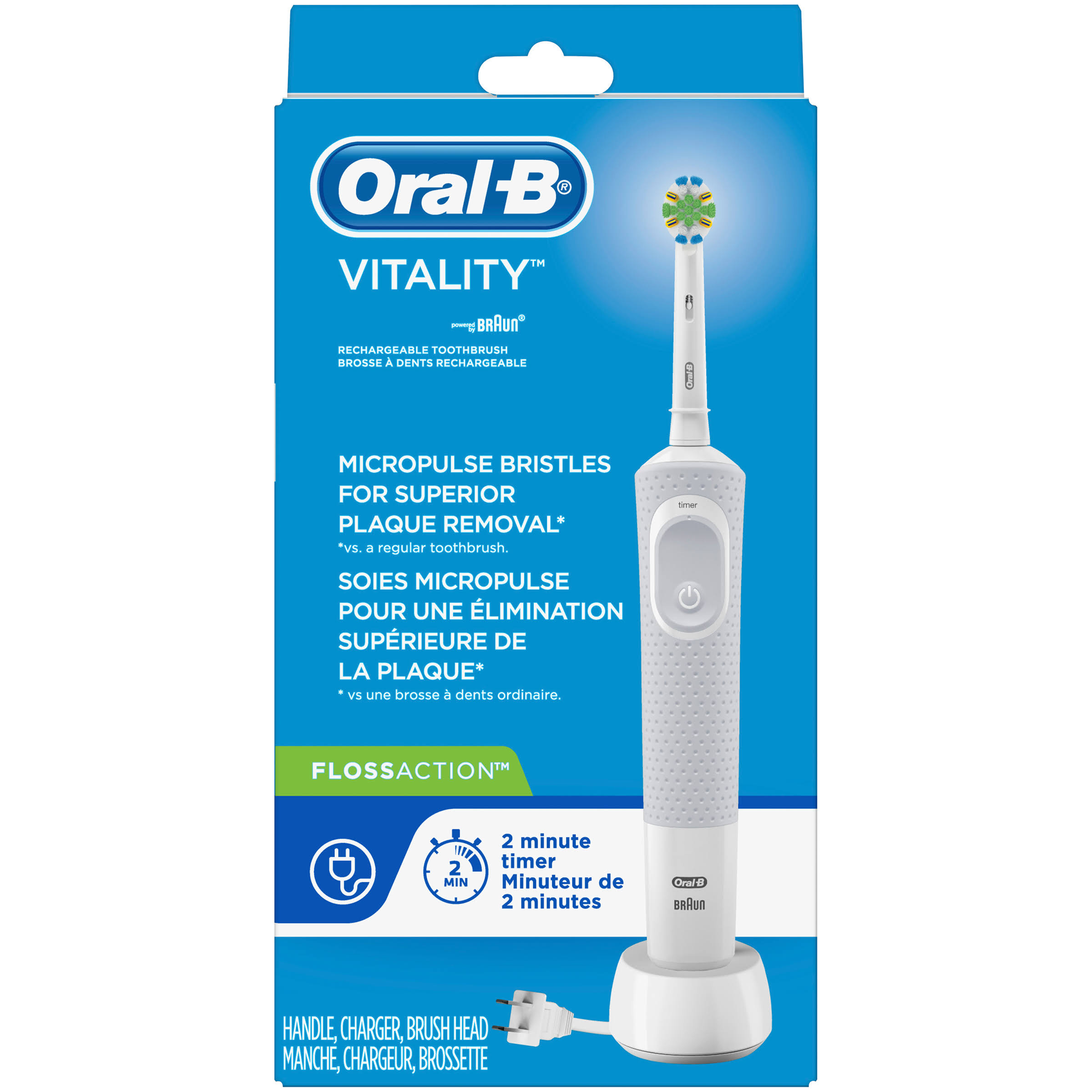 Oral-B Vitality Flossaction Rechargeable Electric Toothbrush