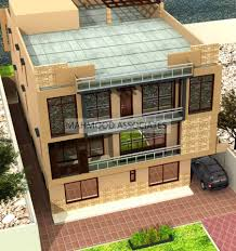 100 3 Level House Designs Contemporary Split Design By Mahmood Associates 1
