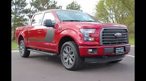 100 Special Edition Ford Trucks 2016 F150 XLT SuperCrew Cab EcoBoost FX4 At