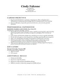 Resume Template Administrative Assistant Hr Sample Objective Statements
