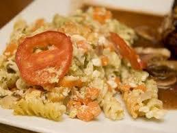 gratin de pâtes au pesto et aux légumes recette ptitchef