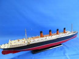 buy rms lusitania limited 50 inch w led lights model cruise ship