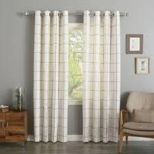 Checkered Flag Bedroom Curtains by Check U0026 Plaid Curtains U0026 Drapes You U0027ll Love Wayfair