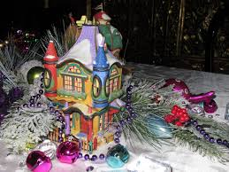 Dept 56 Halloween Village List by Christmas Village Fun Blog Decorating The Christmas Table With