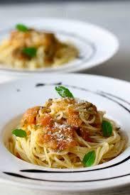 pâtes à l ail pasta