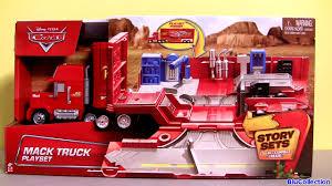 100 Mack Truck Hauler Transformer New Story Sets DisneyPixarCars Camin