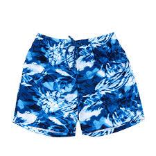 100 Coco Republic Sale Mens Leafy Acid Wash Board Shorts In Blue