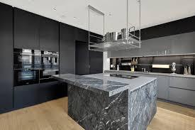 luxus penthouse maisonette berlin mitte modern küche