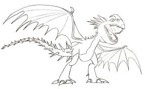 Download Or Print These Amazing How To Train Your Dragon Coloring