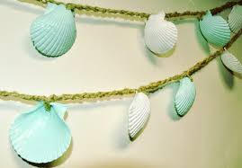 Seashell Christmas Tree Garland by Seashell Garland Images Reverse Search