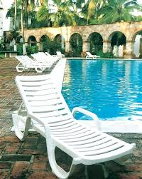 In Pool Lounge Plastic Resin Furniture Cl Chairs Water