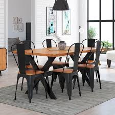 Splendid Rustic Industrial Dining Table Furniture Room Wood ... Kitchen Ding Room Fniture Ashley Homestore 42 Off Macys Chairs Mix Match Mycs Ding Chairs Joelix Best In 2019 Review Guide Amatop10 Rustic Counter Height Table Sets Odium Brown Fascating Modern Clearance Cool Skill Tables Shaker Set Of 4 Espresso Walmartcom Slime Teak Chair Teak Fniture White Pretty Studio Faux Octagon 3 Ways To Increase The Wikihow