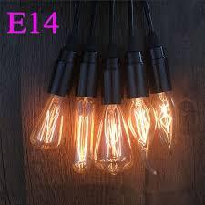 ata led retro l e14 incandescent bulb st48 c35 t45 t10 vintage