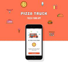 100 Food Truck App Pizza Fresh On Behance Mobile Creative UI