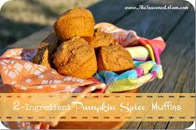 Cake Mix And Pumpkin Puree Muffins by Two Ingredient Pumpkin Spice Muffins