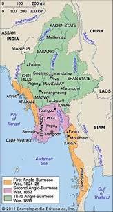 British Territorial Acquisitions In Burma