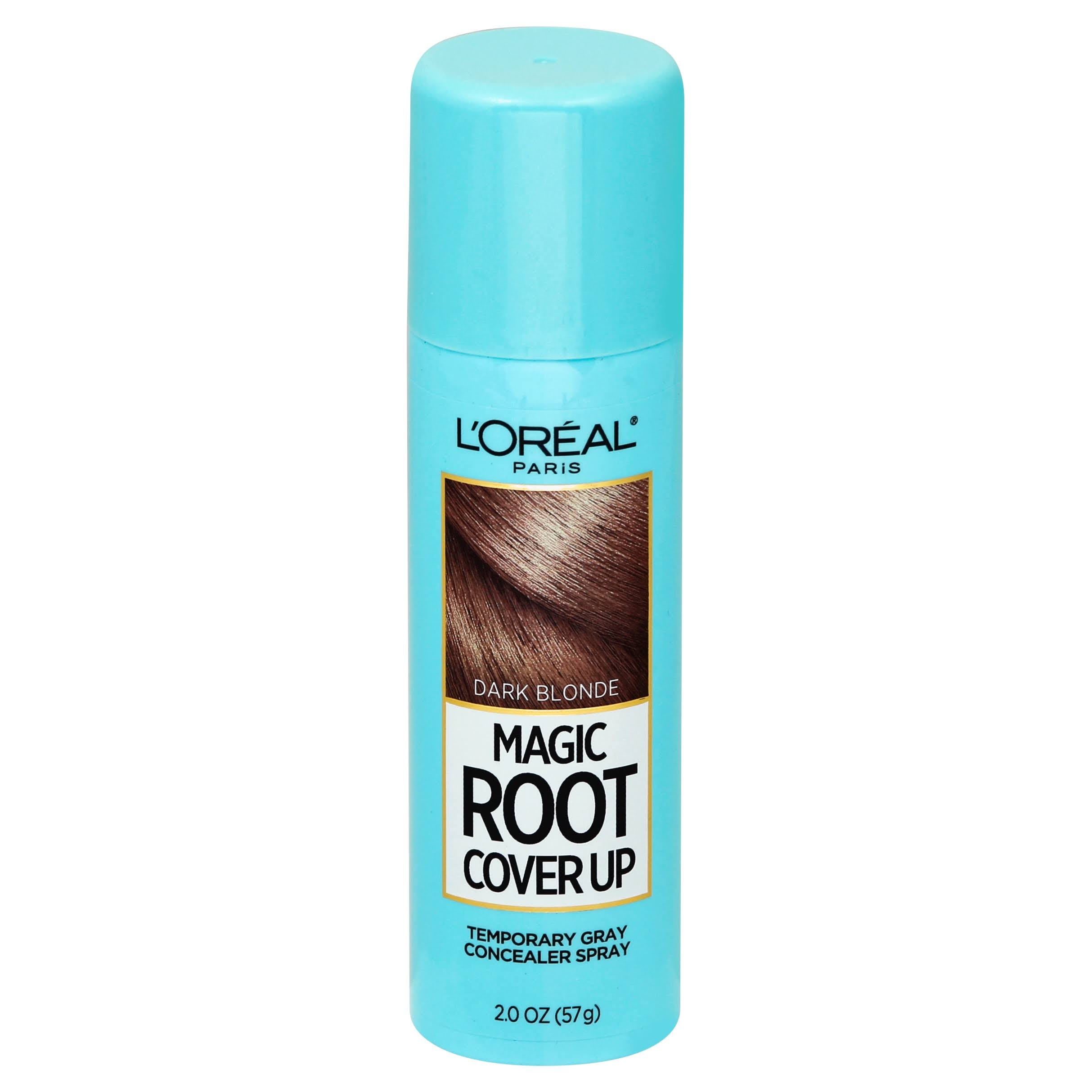 L'Oréal Paris Root Cover Up Temporary Gray Concealer Spray - Dark Blonde, 2oz