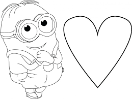 Coloring Pictures Of Hearts With Wings Free Printable And Flowers Pages Page Heart Anatomy Minion Very