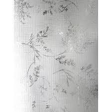 Artscape Decorative Window Film by Shop Artscape 24 In W X 36 In L Textured Silver Fern Privacy