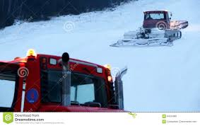 100 Ski Truck Snow Plow On Slope Stock Footage Video Of Large Tourism