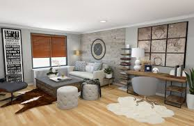 Living Room Modern Rustic Living Room 004 Modern Rustic Living