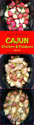 Slow Cooker Cajun Chicken Potatoes Paleo Whole30