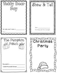 Printable Pumpkin Books For Preschoolers by Best 25 Preschool Memory Book Ideas On Pinterest End Of A